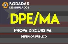 Curso   Rodadas de Simulados   Concurso   Defensor Público do Estado do Maranhão (DPE/MA)   Prova Discursiva