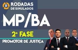 Curso | Rodadas de Simulados | 2ª Fase | Concurso | Promotor de Justiça do Estado da Bahia (MP/BA)