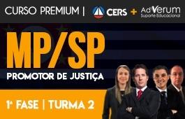 Curso | Rodadas de Estudo Dirigido | 1ª Fase | Concurso | Promotor de Justiça de São Paulo (MP/SP) | Turma 2