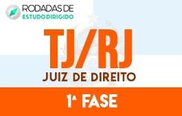 Curso | Rodadas de Estudo Dirigido | 1ª Fase | Concurso Juiz de Direito do Rio de Janeiro (TJ/RJ)