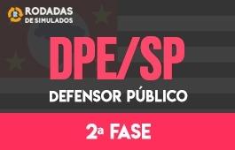 Curso | Rodadas de Simulados | 2ª Fase | Concurso | Defensor Público de São Paulo (DPE/SP)