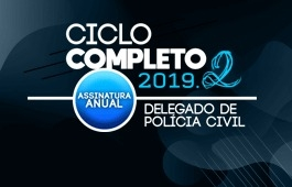 Curso | Ciclo Completo | Delegado da Polícia Civil | Assinatura Anual