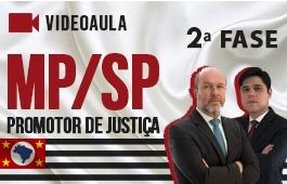 Curso | Concurso | Promotor de Justiça de São Paulo (MP/SP) | 2ª Fase | Videoaulas