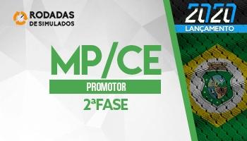 Curso | Concurso MPCE | Promotor de Justiça | 2ª Fase | Rodadas de Simulados | Turma 2