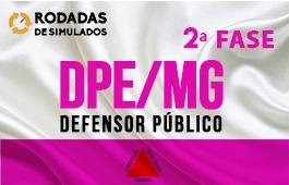 Curso | Rodadas de Simulados | 2ª Fase | Concurso | Defensor Público de Minas Gerais (DPE/MG)