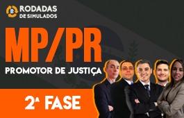 Curso | Rodadas de Simulados | 2ª Fase | Concurso Promotor de Justiça do Paraná (MP/PR)