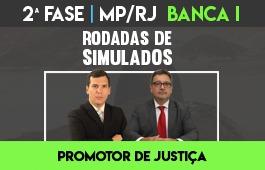 Curso | Rodadas de Simulados | 2ª Fase MP/RJ - Banca I