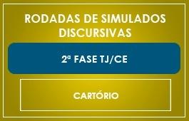 RODADAS DE SIMULADOS - 2ª FASE - CURSO CARTÓRIO CE - TJ/CE