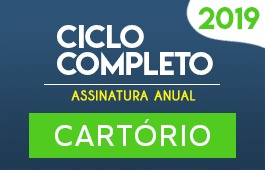 Curso Ciclo Completo | Cartório | Assinatura Anual
