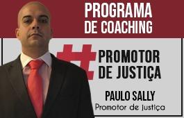 Coaching | Curso para Concursos de Promotor de Justiça | Prof. Paulo Sally
