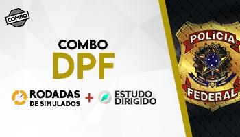 COMBO: RODADAS DE SIMULADOS PARA DELEGADO DA POLÍCIA FEDERAL + ESTUDOS DIRIGIDOS