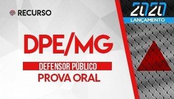 Recurso | Concurso | Defensor Público de Minas Gerais (DPE/MG) | Prova Oral