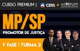 Curso   Rodadas de Estudo Dirigido   1ª Fase   Concurso   Promotor de Justiça de São Paulo (MP/SP)   Turma 2