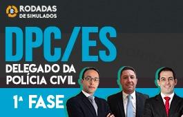 Curso | Rodadas de Estudo Dirigido | 1ª Fase | Concurso Delegado da Polícia Civil do Espírito Santo (DPC/ES) | Turma 2
