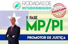 Curso | Rodadas de Estudo Dirigido | 1ª Fase | Concurso Promotor de Justiça do Piauí (MP/PI)