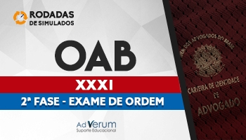 Curso | Rodadas de Simulados | 2ª Fase | OAB | XXXI Exame de Ordem