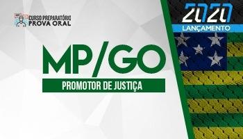 Curso Preparatório Prova Oral | Concurso Promotor de Justiça de Goiás (MP/GO)