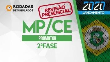 Curso | Concurso | Promotor de Justiça do Ceará (MP/CE) | 2ª Fase | Revisão Presencial