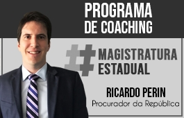 Coaching | Curso para Concurso Magistratura Estadual | Prof. Ricardo Perin