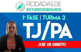Curso | Rodadas de Estudo Dirigido | 1ª Fase | Concurso Juiz de Direito do Pará (TJ/PA) | Turma 2
